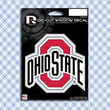Ohio State Buckeyes Car Window Decals Stickers