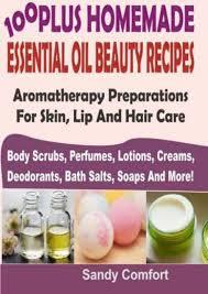 homemade essential oil beauty recipes