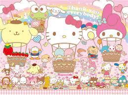 50 sanrio characters wallpaper on