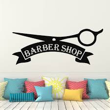 Decal House Barber Shop Wall Decal Wayfair