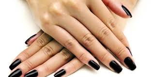 fall nail colors for dark skin