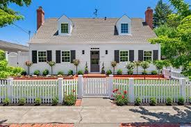Cape Cod Style Home In Sonoma Ca Cape Cod House Exterior Cape Cod Style House Cape Cod House