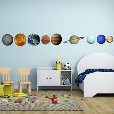 Planets In Our Solar System Vinyl Wall Decal The Decal Bros