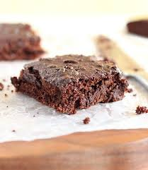 easy healthy brownies with applesauce