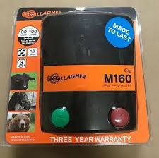M10 Gallagher North America Electric Fence Charger 110 Volt 0 1 Joules Livestock Supplies Business Industrial