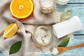 natural homemade deodorant solid recipe