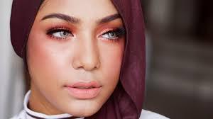 orange bronze makeup for tan skin