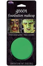foundation makeup green
