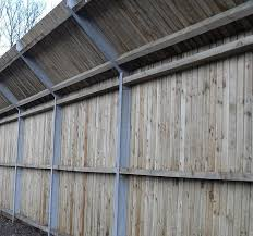 Timber Acoustic Fencing Acoustic Barriers Procter Contracts