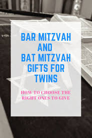 bar mitzvah and bat mitzvah gifts for