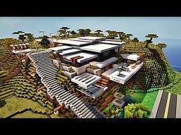 minecraft maison moderne by
