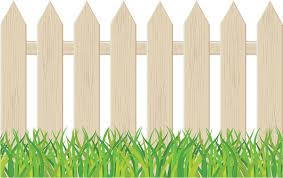 Cartoon Garden Fencing Clip Art Library