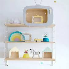 Nordic Metal Wall Shelf Wall Decor Shelf Kids Room Wooden Hanging Shelf 3 Tier Wall Display Rack Diy Wall Decoration Holder Pink Decorative Shelves Aliexpress