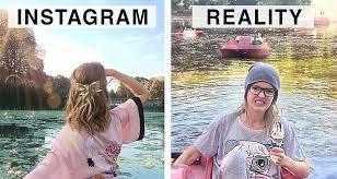 Géraldine West confronte avec la réalité les photos Instagram - Meilleur  Mobile