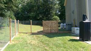 protection fence co post and rail and