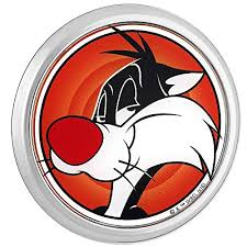 Fan Emblems Looney Tunes Sylvester The Cat 3d Car Emblem Domed Multicolor Chrome Automotive Sticker Decal Badge Flexes To Fully Adhere To Cars Trucks Motorcycles Laptops Windows Almost Anything On Galleon Philippines