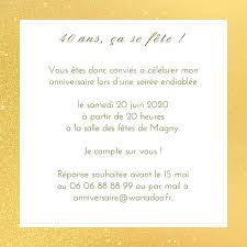 modele texte invitation noce d or