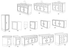 image kitchen cabinet dimaensions sizes