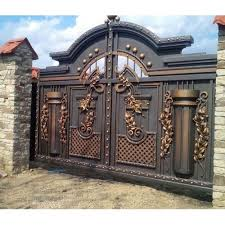 Hinged Modern Iron Fence Main Gate Rs 85 Kg Vaishnavi Traders Id 22580703933