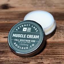 CBD Muscle Cream | Extract Labs Boulder, Colorado