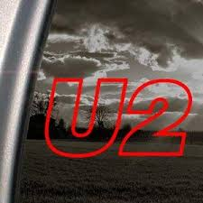 Amazon Com U2 Red Decal Rock Band Car Truck Bumper Window Red Sticker Automotive