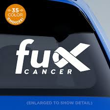 Fuck Cancer Decal