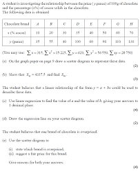 exam questions regression examsolutions