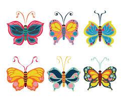 Beautiful Butterfly Clipart Vector Vector Art & Graphics ...