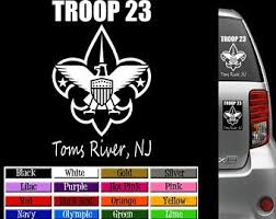 Boy Scout Decal Etsy