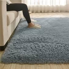 Soft Bedroom Floor Rugs Comfy Fluffy Shag Area Rugs Nursery Carpet For Living Room Kids Room Nursery Home Decor Rug Mat Walmart Com Walmart Com