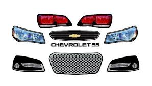 Chevy Ss Minicup Headlight Decals Light Kit For Race Cars