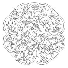 Mandala 615 Christmas Designs 3d Coloring Book By Marty Noble
