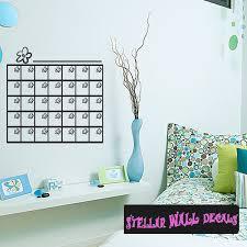 Calendar Flowers Child Teen Wall Decals Wall Quotes Wall Murals Ca002calendarflowersvii Swd