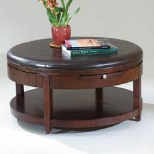 brunswick round cocktail table with
