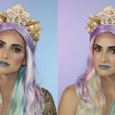 mermaid makeup tutorial vix