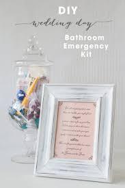 diy bathroom emergency kit free