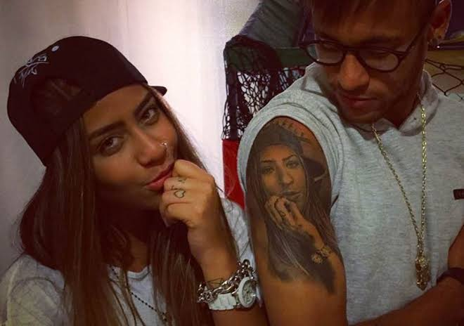 Image result for Neymar tattoo""
