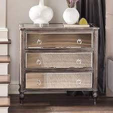 marcella mirrored chest furniture