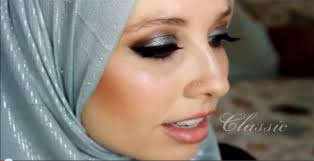 silver special occasion makeup tutorial