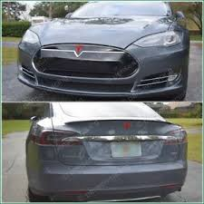 Tesla Model S Nosecone T Tailgate Logos Accent High Cast Vinyl Decal Stickers Ebay