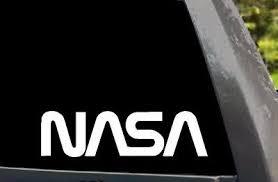 Nasa Worm Logo Car Window Truck Laptop Wall Vinyl Decal Sticker Ebay