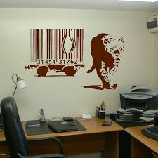 Extra Large Banksy Lion Barcode Escape Wall Art Sticker Transfer Vinyl Decal 201054525719 3 Bespoke Graphics