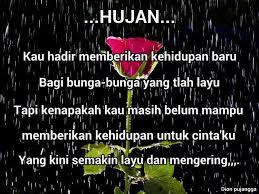 √ cara kata kata hujan di malam hari kumpulan gambar kata