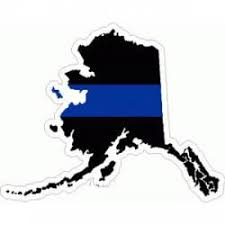 Thin Blue Line State Stickers Decals Bumper Stickers