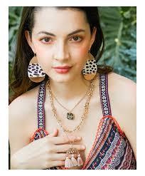 jewelry fashion leather leopard print