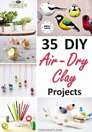 35 diy air dry clay projects that are