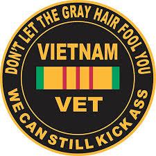 Magnet Don T Let The Gray Hair Fool You Vietnam Veteran 5 5 Inch Magnetic Sticker Decal Walmart Com Walmart Com