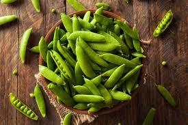 snow peas sugar snap peas mangetout