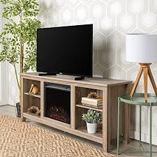 new 58 inch wide ash grey tv stand with