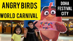 Angry Birds World Carnival Qatar | Doha Festival City I Qatar ...